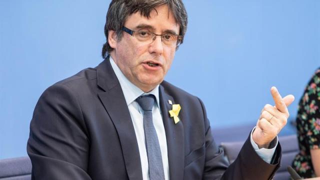 Puigdemont regresará este fin de semana a Bélgica