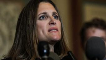 Canadá presiona a EU para reanudar negociaciones del TLCAN