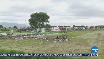 A Un Día Explosiones Tultepec Estado de México