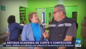 Academia de corte y confección en la CDMX