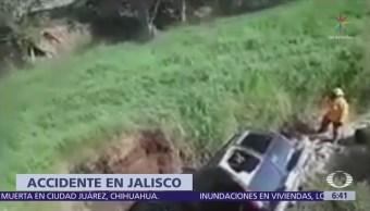 Accidente automovilístico en carretera de Jalisco deja seis muertos