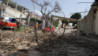 Lluvias dañan red de agua potable Tuxtla Gutiérrez, Chiapas