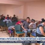 México se opone a refugiar a migrantes que buscan asilo