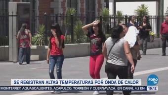 Alertan Sonora Altas Temperaturas Calor Clima