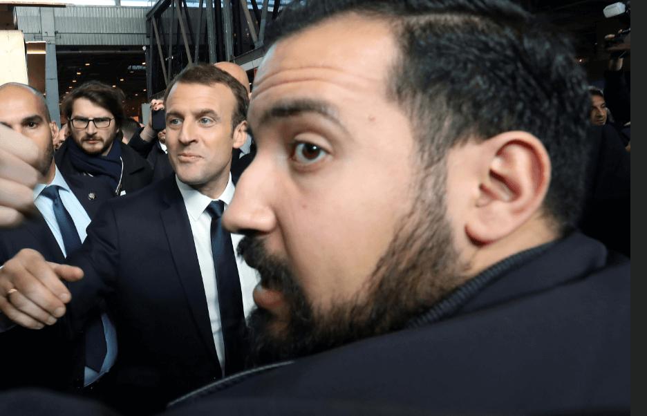 Macron considera inaceptable acción de su guardaespaldas