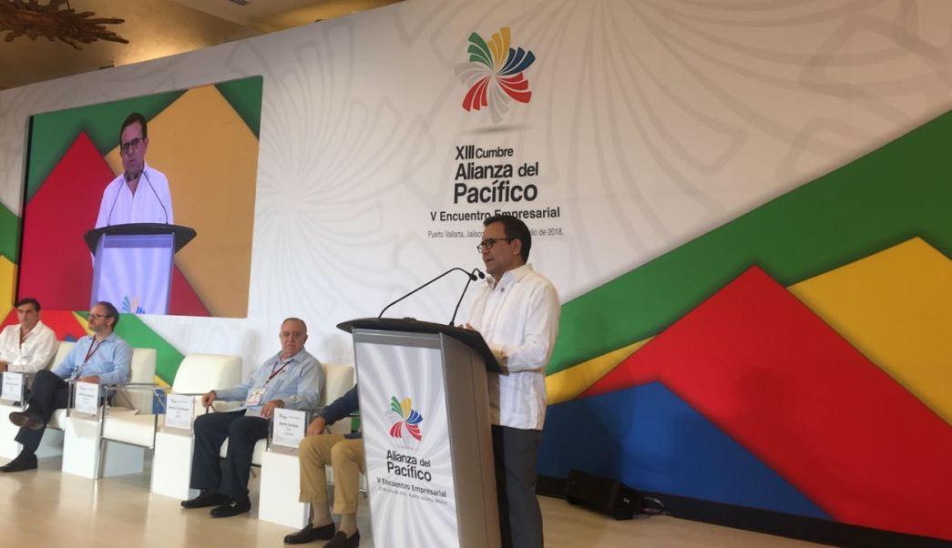 Alianza del Pacífico busca credibilidad y estabilidad comercial: Guajardo