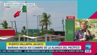 Alistan en Puerto Vallarta la XIII Cumbre de la Alianza del Pacifico