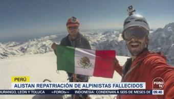 Alistan repatriación de alpinistas fallecidos en Perú