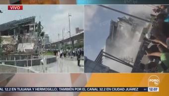 Almeida confirma que no hay lesionados tras derrumbe en Artz Pedregal