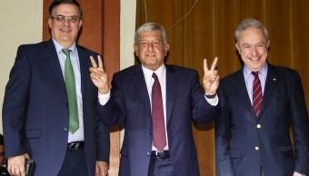 Propone AMLO a Ebrard como titular de SRE