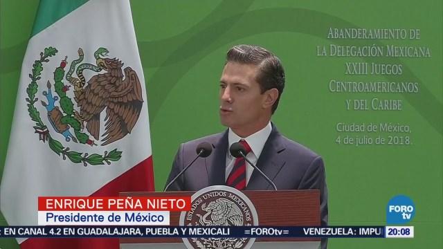 Amlo Ganador Inobjetable Enrique Peña Nieto