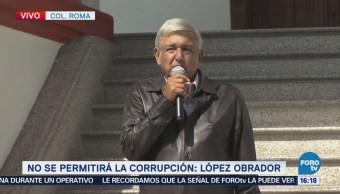Amlo Presenta Plan Anticorrupción López Obrador