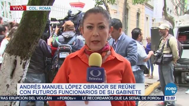 Amlo Reúne Futuro Gabinete Andrés Manuel López Obrador