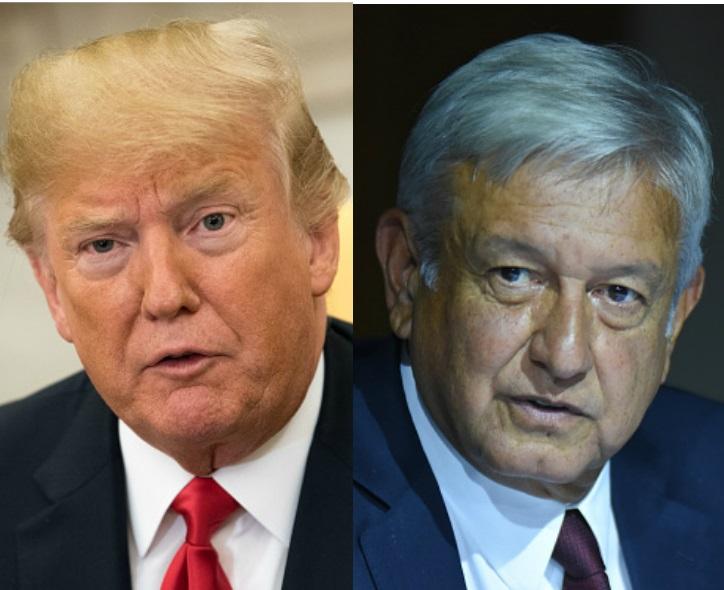 Cartas de Trump y AMLO, intercambios de mensajes político