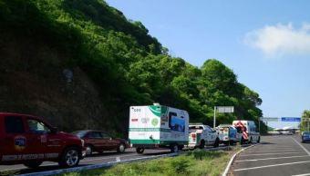 Refuerzan operativos de apoyo vial a viajantes en Guerrero