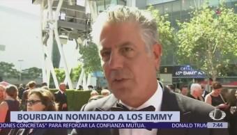 Anthony Bourdain recibe nominaciones póstumas