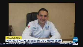 Aparece Alcalde Electo Ciudad Mier Tamaulipas Roberto Gustavo González Hinojosa