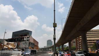 Habilitan paso vehicular y peatonal frente a plaza Artz