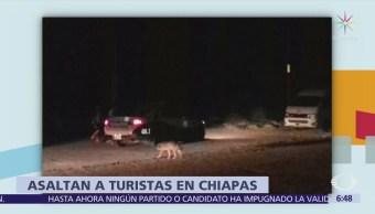 Asaltan a 18 turistas en carretera de Chilón, Chiapas