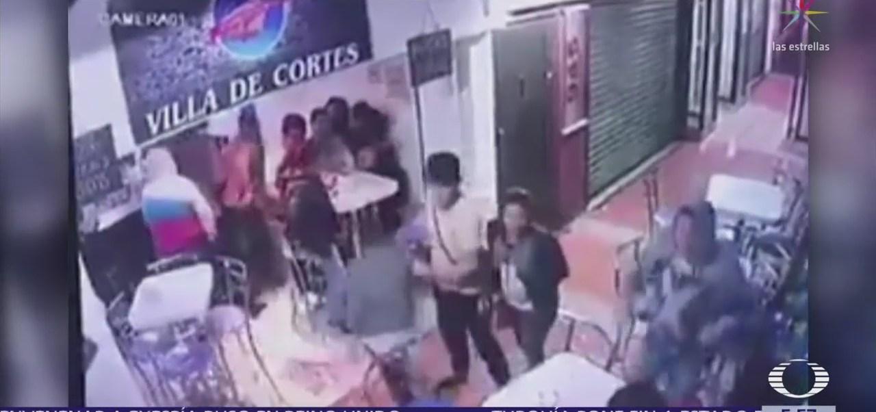 Asaltan a comensales de cafetería en colonia Josefa Ortiz de Domínguez, CDMX