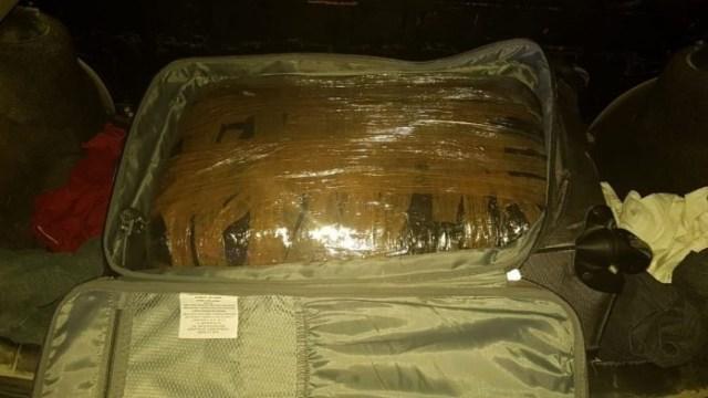 Aseguran 20 kilos de marihuana en malecón de Cozumel