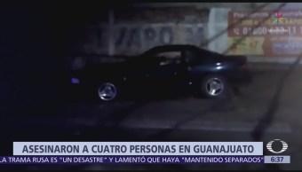 Asesinan a cuatro personas en Cortázar, Guanajuato