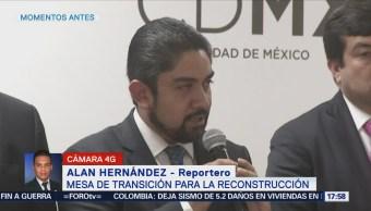 Asignan 2,500 Millones Pesos Reconstrucción CDMX
