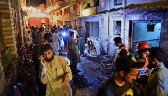 Atentado acto electoral deja 12 muertos 30 heridos Pakistán