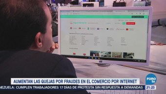 Aumentan fraudes a compradores por internet