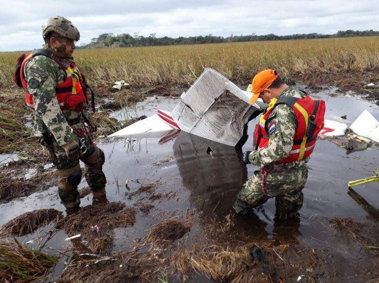 Desapareció una avioneta en la que viajaban miembros del gobierno — Paraguay