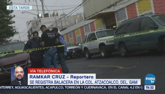 Balacera Deja Dos Muertos Gustavo A Madero CDMX