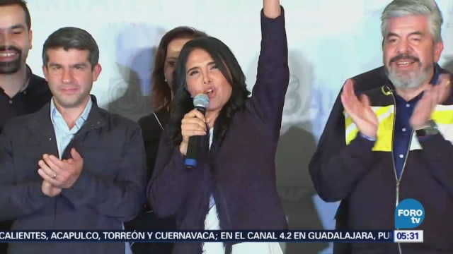 Barrales admite triunfo de Claudia Sheinbaum en CDMX