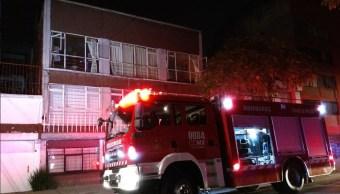 Conato incendio despierta a vecinos de la colonia Algarín, CDMX