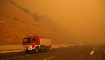 Grecia luto nacional decenas de muertos incendios forestales