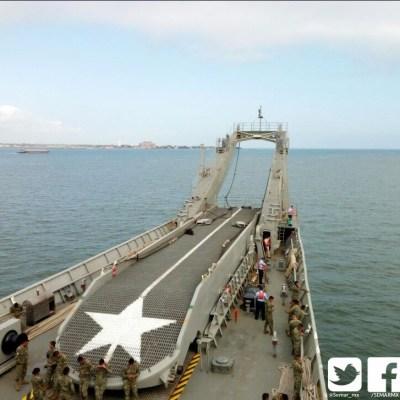 Arriba el buque 'Papaloapan' al puerto de Veracruz