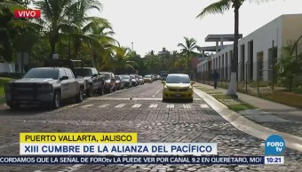 Calles Puerto Vallarta Están Listas Xii Cumbre Alianza Pacífico