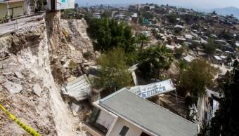 No paran movimientos tierra luego de colapso de viviendas en Tijuana