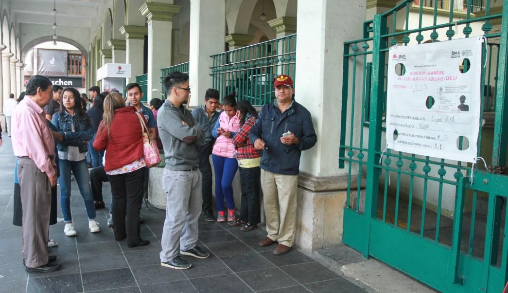 Se agotan boletas electorales casillas especiales Veracruz