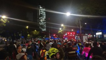 Paseo ciclista cumple ocho años en la Ciudad de México