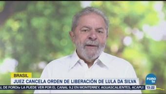 Juez Revoca Liberación Lula Mantiene Prisión