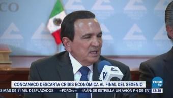 Concanaco No Crisis Fin Sexenio José Manuel López
