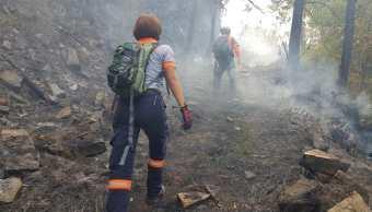 Incendio forestal La Muralla, en Nuevo León, es controlado