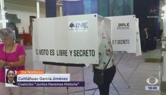Cuitláhuac García confianza en ganar las
