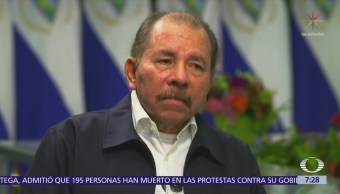 Daniel Ortega admite muerte de 195 personas durante protestas