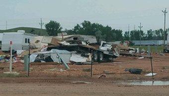 Tornado en Dakota del Norte causa muerte de un bebé