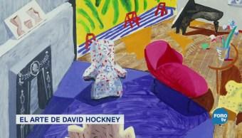 David Hockney Arte Con Dispositivos Móviles