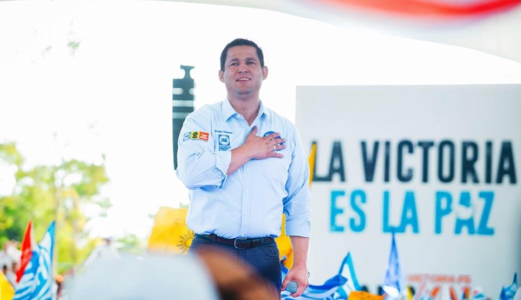 'Vamos a dar buenos resultado', asegura Diego Sinhué Rodríguez, candidato del Frente en Guanajuato