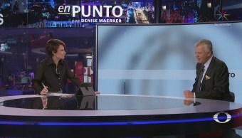 Denise Maerker entrevista al piloto Leonardo Sánchez