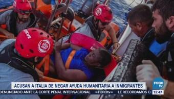 Denuncian Guardia Costera Libia Deja Morir Migrantes