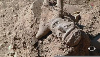 Descubren osamenta de primeros pobladores de Colima